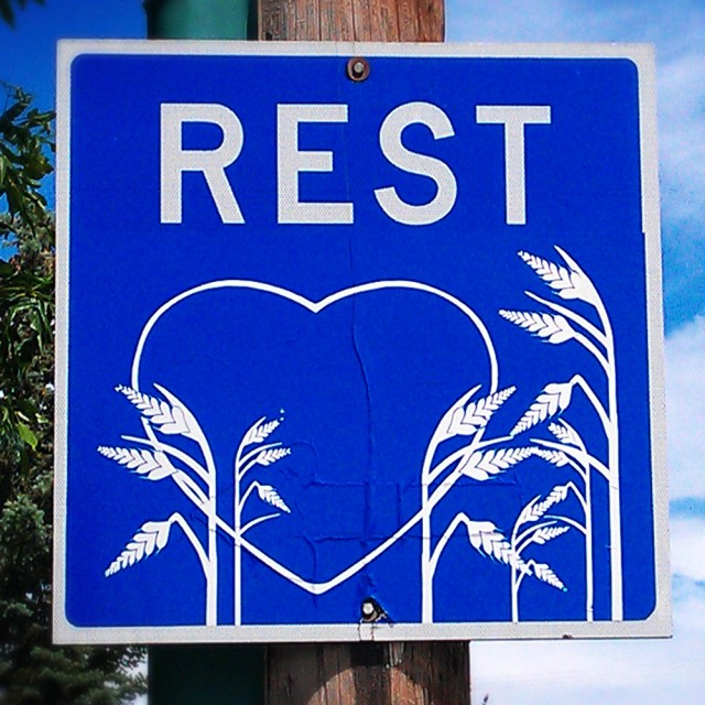 Rest Stop Heart